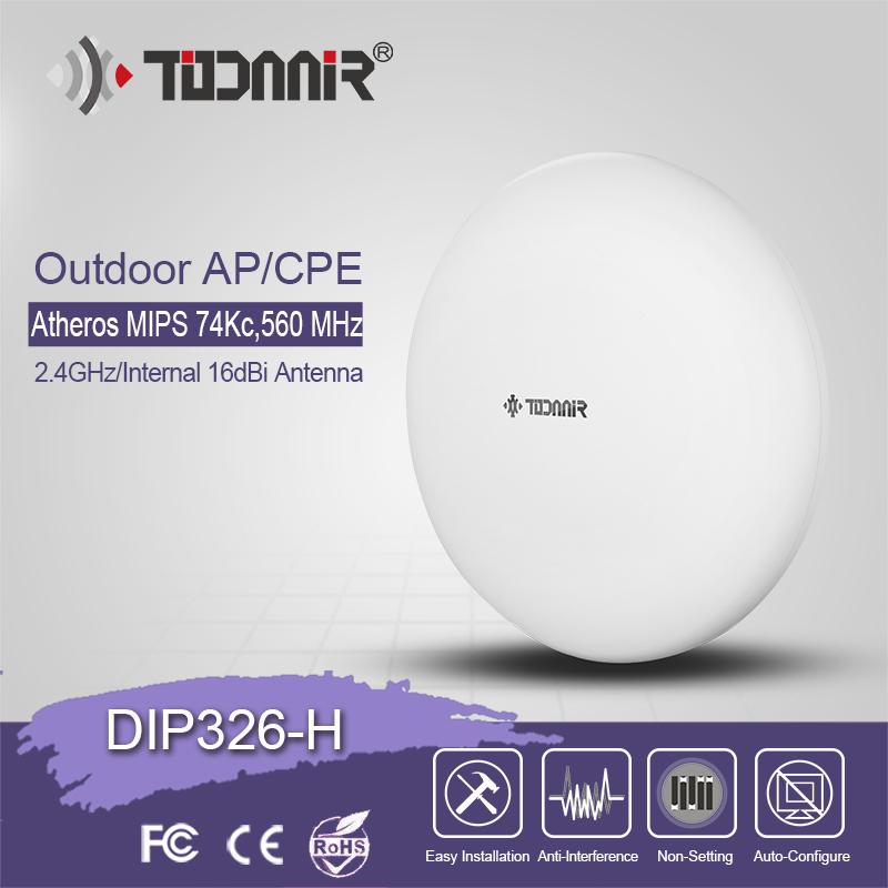 Todaair 2.4G 300Mbps  Wifi CPE DIP326-H