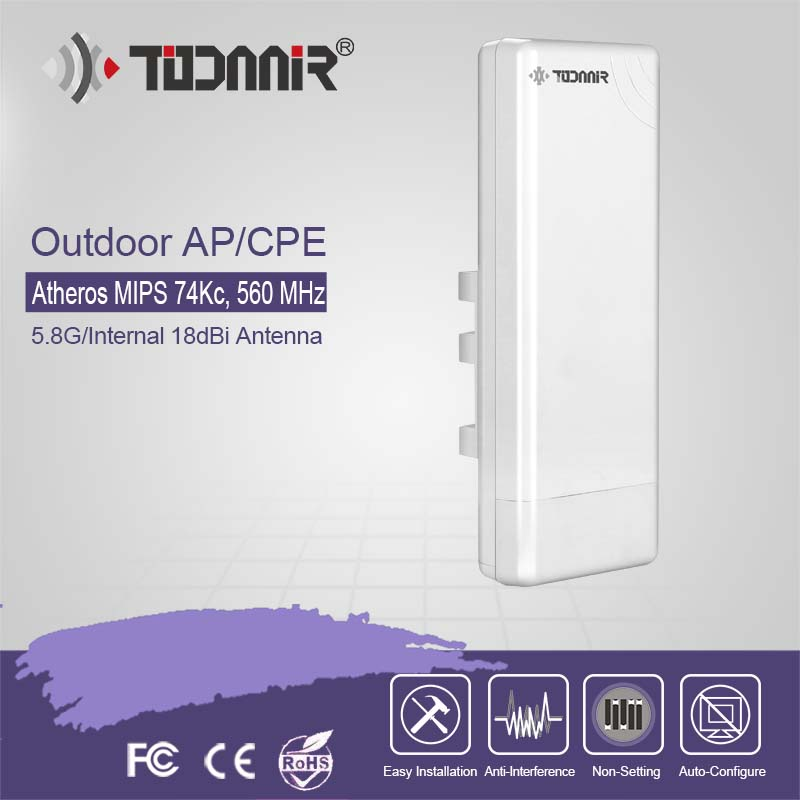 2.4G 150Mbps outdoor quality network router T123